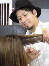 VEGA hair's story スタイリスト 金井悠太